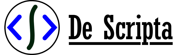 Logo De Scripta